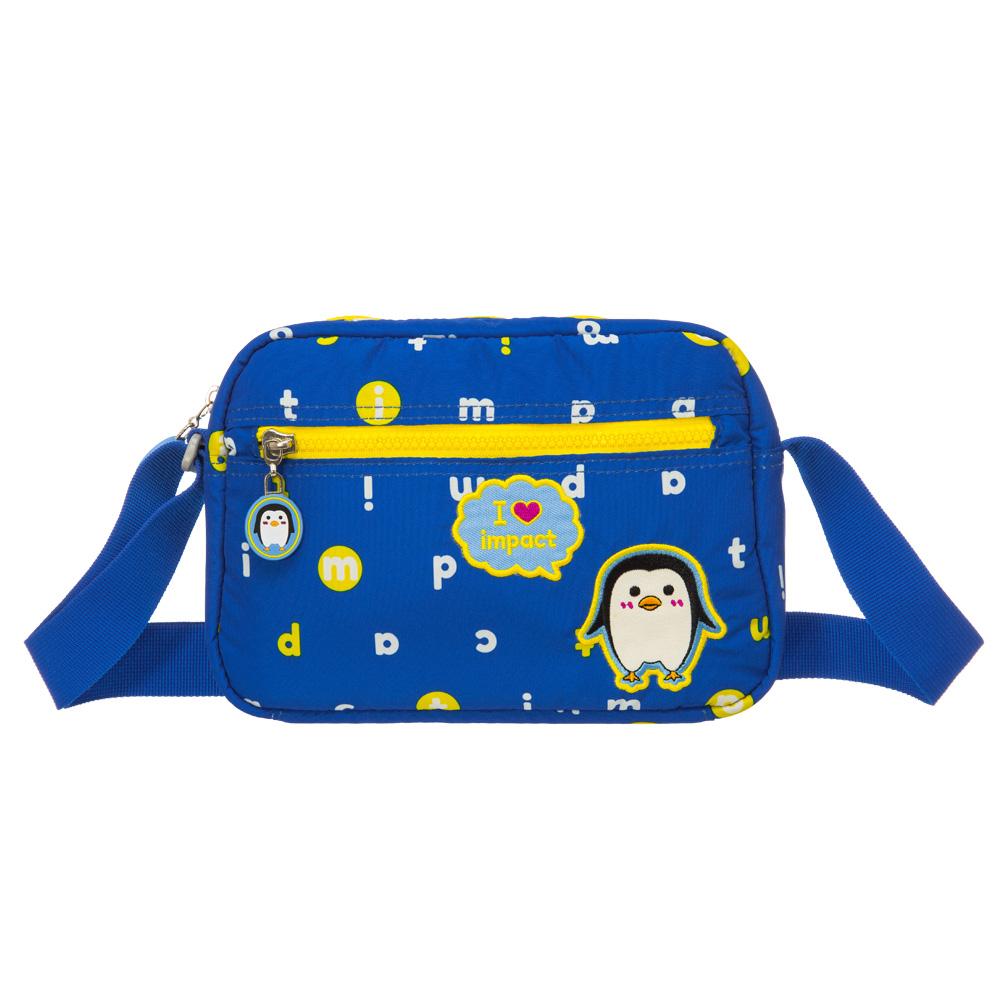 IMPACT 怡寶歡樂南極-側背泡泡包-藍色IM00M01BL