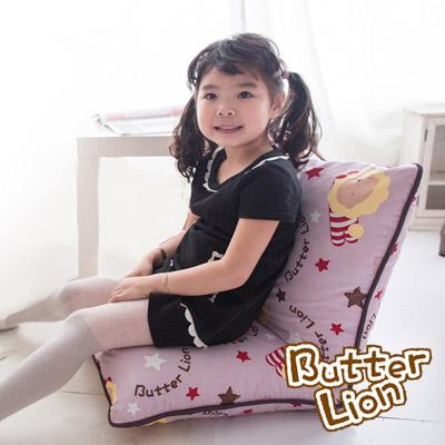 【奶油獅】正版授權 台灣製造-可拆洗搖滾星星胖胖和室椅-淡紫