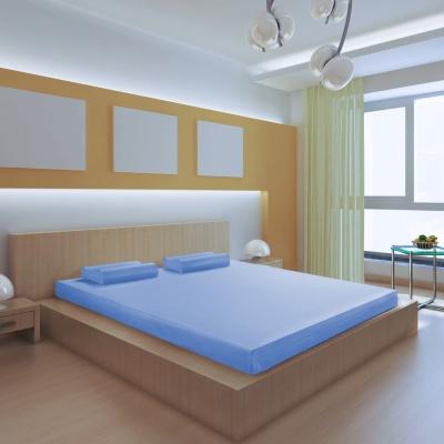 House Door 日本防蹣抗菌10cm竹炭高彈力記憶床墊-雙大6尺