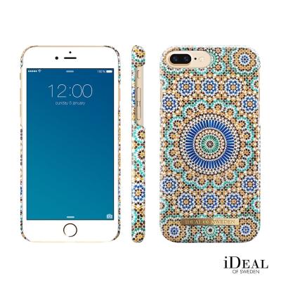 iDeal iPhone 6 Plus 7 Plus 8 plus手機保護殼-摩洛哥幾何藝術