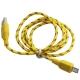 LineQ Micro USB 彩色編織傳輸充電線