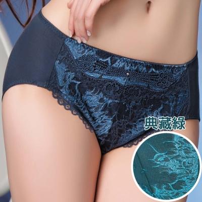 思薇爾 撩波系列中腰三角褲(典藏綠)