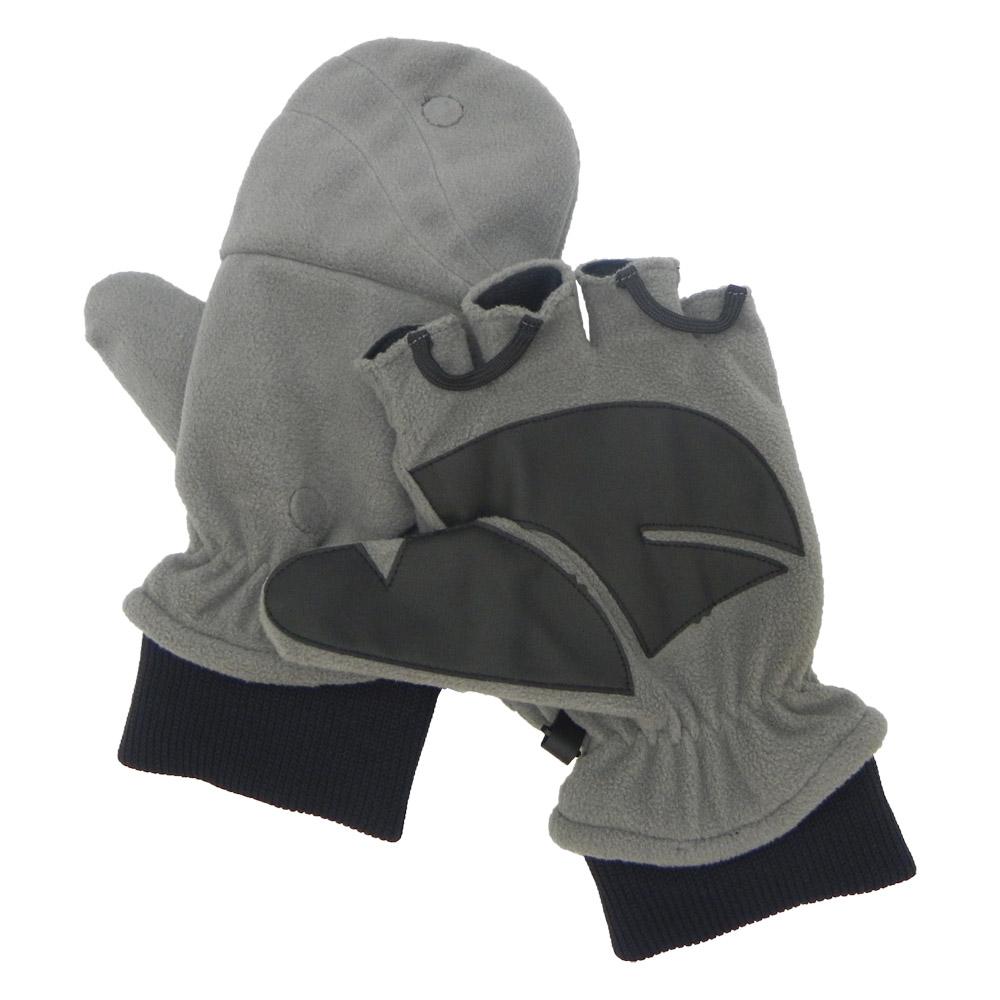 【VOSUN】新款 DINTEX 輕量防風防水翻蓋兩用手套/V-586 深灰