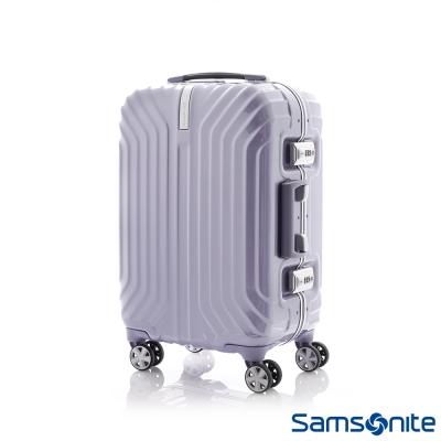 Samsonite新秀麗-20吋-TRU-FRAME-PC時尚硬殼鋁框登機箱-炫銀