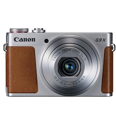 【超值組】Canon PowerShot G9 X (公司貨) - 銀色系
