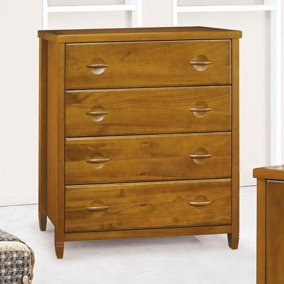 斗櫃 四抽 森杰3.5尺 柚木色 愛比家具