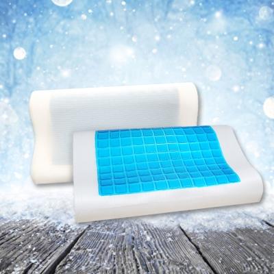 透氣人體工學科技記憶冷凝膠枕  透氣網布  1入
