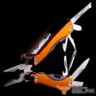 韓國SELPA 11合一多功能萬用工具組 橙 鉗子 一字起子 開瓶器 錐子 指甲刀 瑞士刀