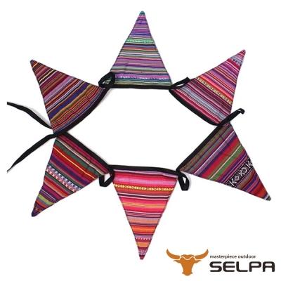 韓國SELPA 繽紛飾品 三角旗掛飾