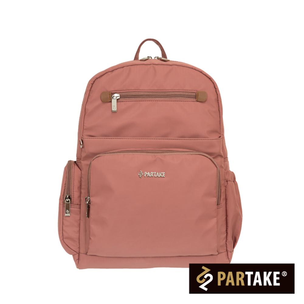 PARTAKE-B2都會休閒生活系列-後背包-磚紅-PT16-B2-82RY