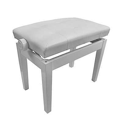 BANGDE YX108 WH 鋼琴升降專用琴椅 白色款