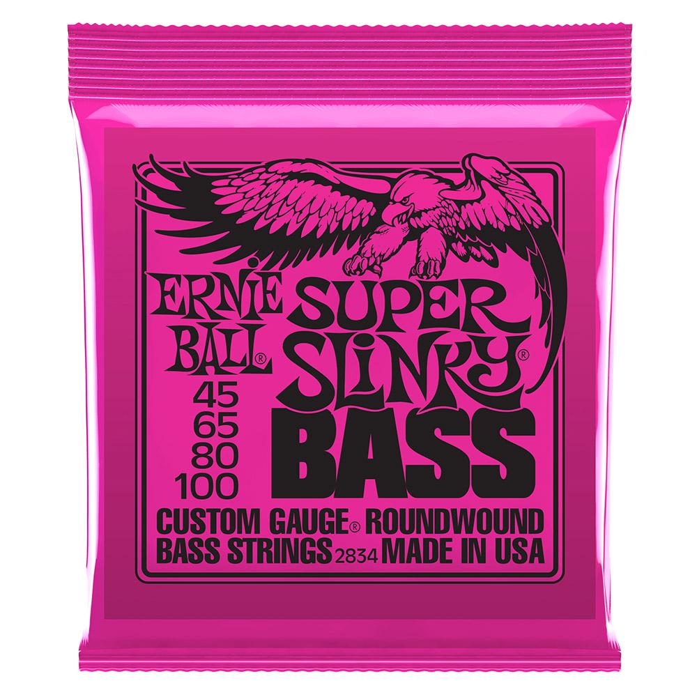 ERNIE BALL 2834 Slinky 電貝斯套弦 045-100