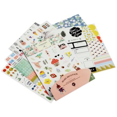 ICONIC 甜美時刻貼紙組(9入)Ver.7