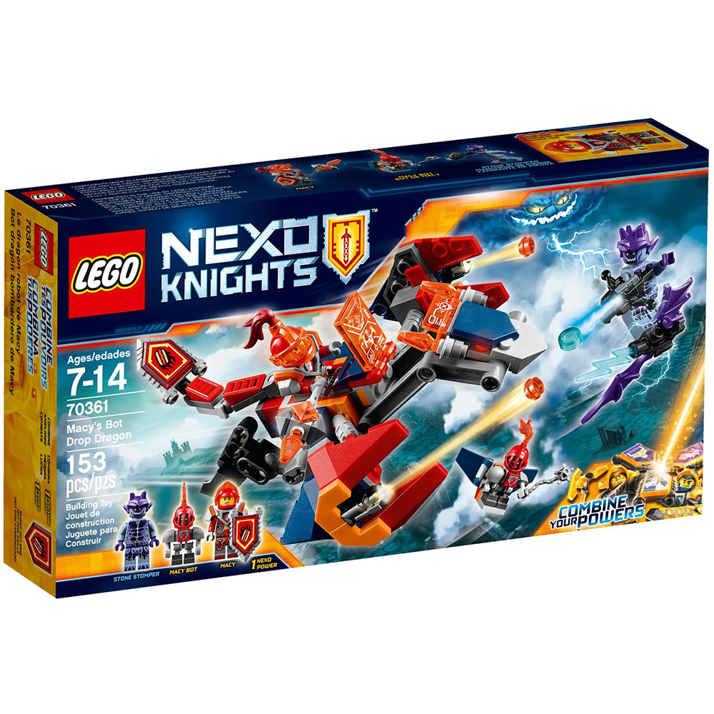LEGO樂高 未來騎士團系列 70361 梅西的機器飛龍