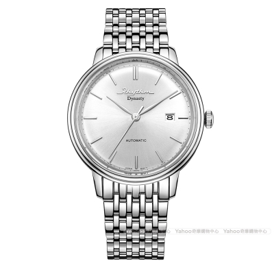 RHYTHM日本麗聲 城市美學時尚自動機械腕錶AD1602S-01-銀/47mm