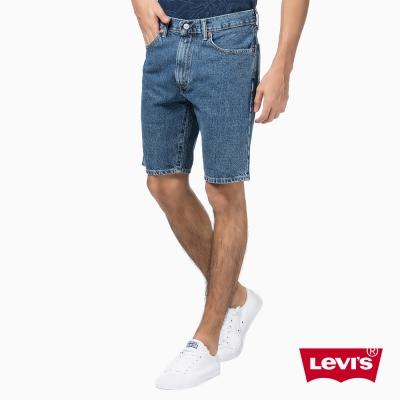 505中腰直筒牛仔短褲Levis