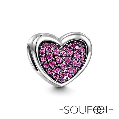 SOUFEEL索菲爾 925純銀珠飾 心靈深處 串珠