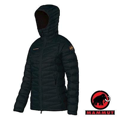 【MAMMUT 長毛象】女 Shoulder 高品質防風保暖鵝絨外套_黑
