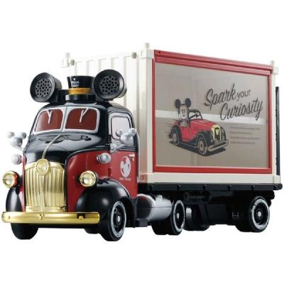 TOMICA 米奇紀念貨櫃收納車 DS96955 多美小汽車