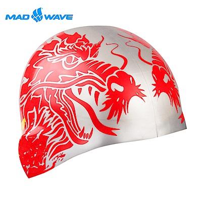 俄羅斯 邁俄威 成人矽膠泳帽 MADWAVE CHINA
