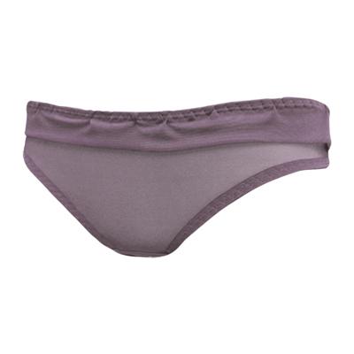 【曼黛瑪璉】混時尚III  低腰三角網褲(知性紫)