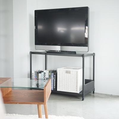Home Feeling 平面沖孔二層波浪架附圍欄(2色)-90X45X60cm-DIY