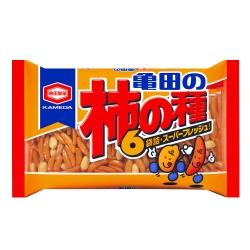 Kameda龜田 6袋入柿種米果(200g)