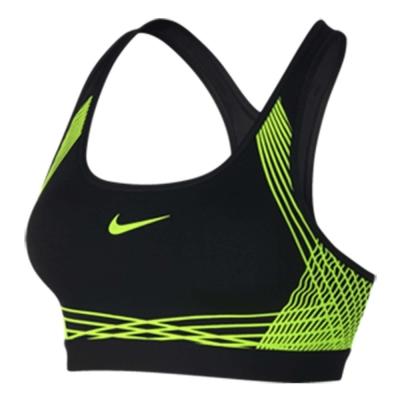 Nike 運動內衣 Pro Hyper Classic 黑綠