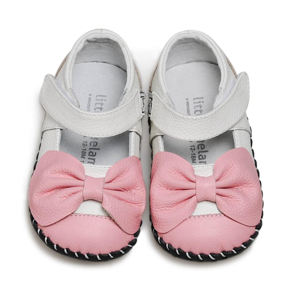 美國littlebluelamb小藍羊真皮防滑兒童學步鞋LI205(單一尺寸)