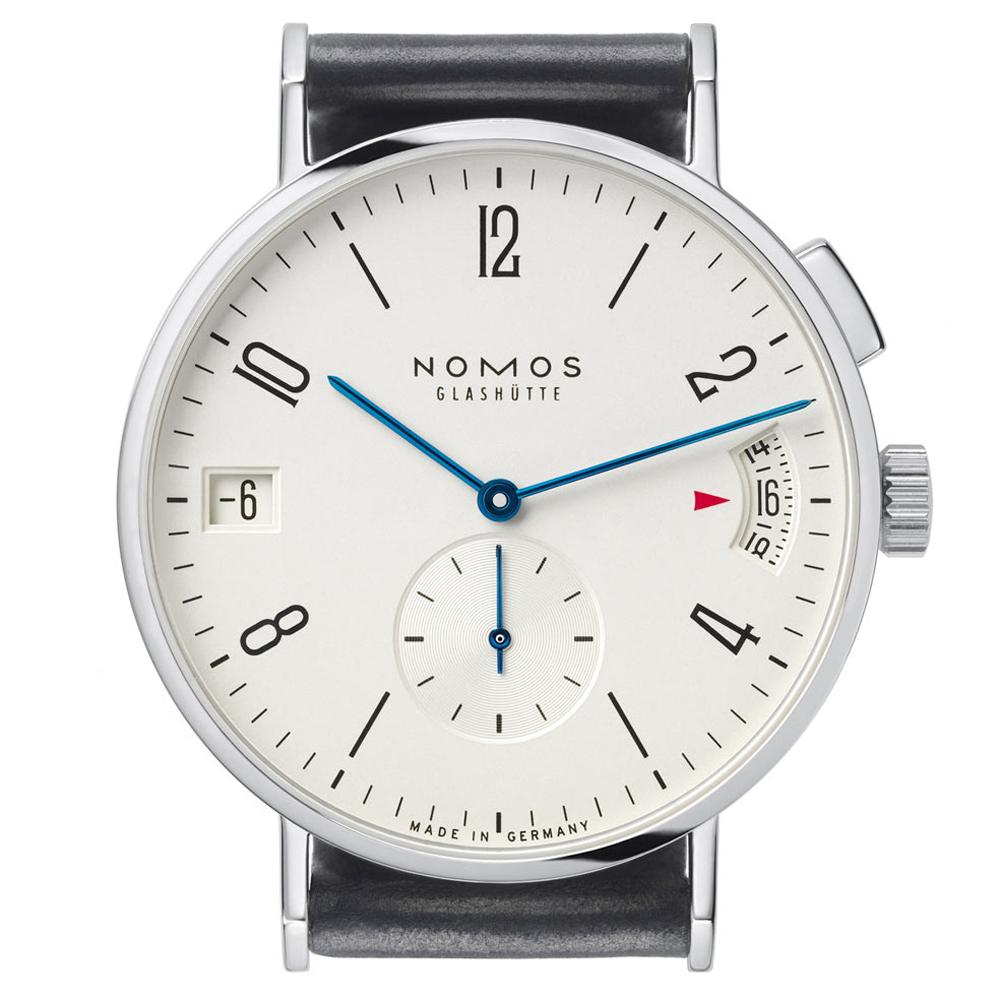 NOMOS Tangomat GMT Plus GMT 時區腕錶-白/40mm