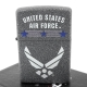 【ZIPPO】美系~US Air Force-美國空軍圖案設計打火機 product thumbnail 1