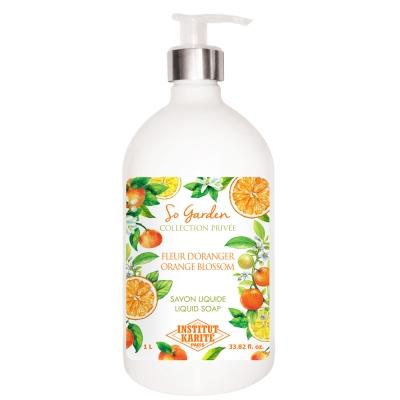 Institut Karite Paris 巴黎乳油木橙花花園香氛液體皂1000ml