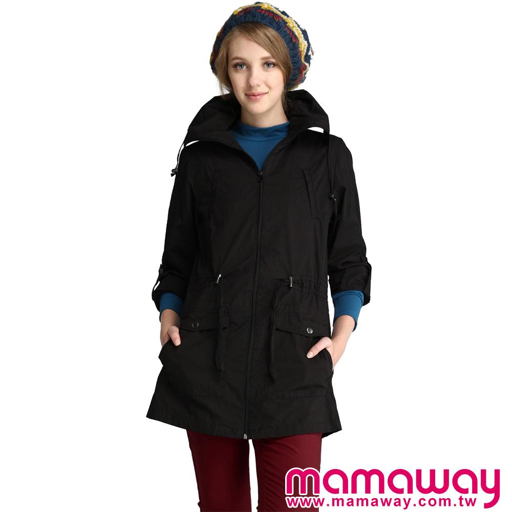 【Mamaway】親子兩用風衣外套(共三色)