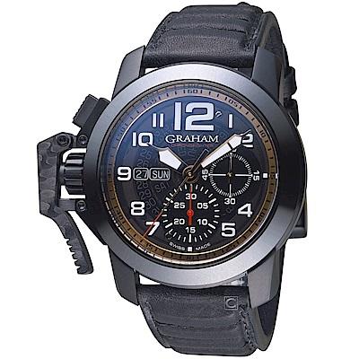 GRAHAM Chronofighter Steel錶(2CCAU.B31A.L143N)