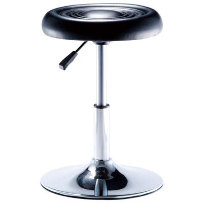 ★限時下殺★【NICK】圓型電鍍腳吧檯椅(圓盤腳座/三色)