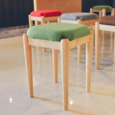 Home Feeling 安德莉方形款椅凳/餐椅/休閒椅(4色可選)