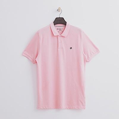 Hang-Ten-男裝-基本多彩POLO-粉紅色