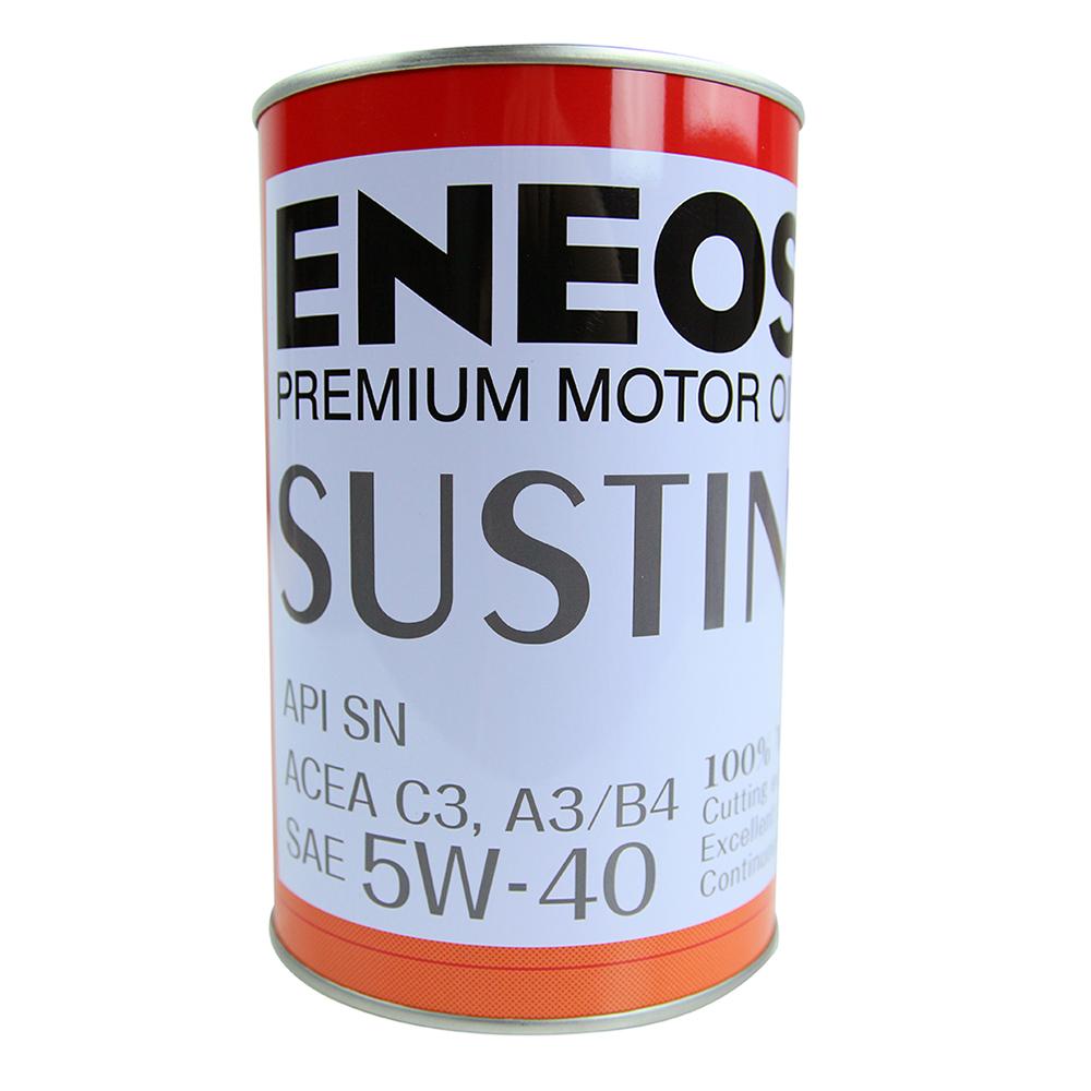 日本ENEOS SUSTINA 5W-40化學合成機油 4入