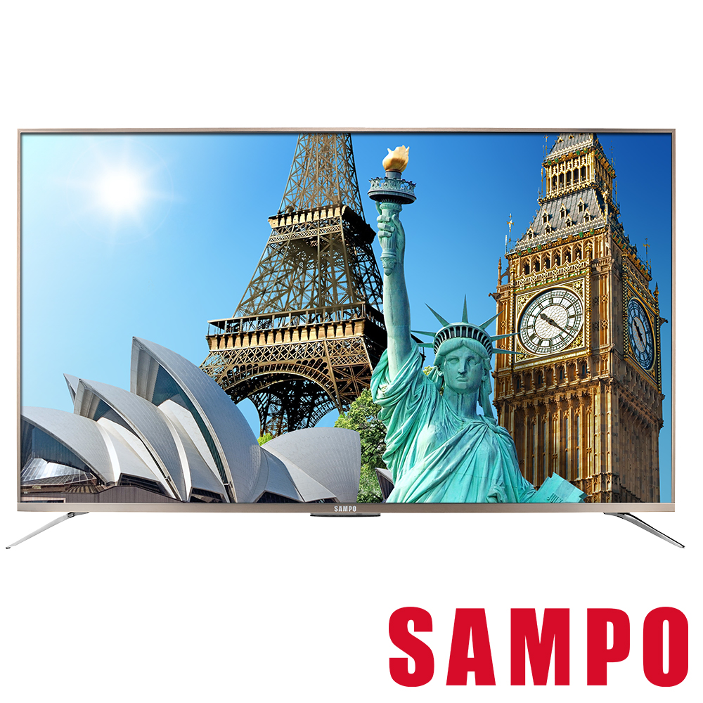 SAMPO聲寶 65型 4K SMART聯網 液晶顯示器+視訊盒 EM-65ZT30D