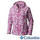 Columbia 哥倫比亞 女款-連帽風衣-紫色花紋 (URR30710UN)