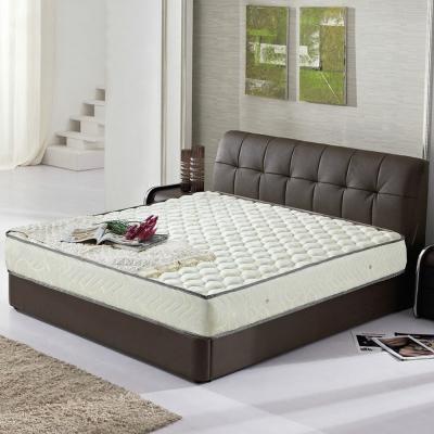 艾維斯 新米布立體加厚護背式彈簧床墊-雙人加大6尺