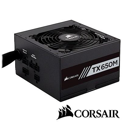 CORSAIR海盜船 TX650M 80Plus金牌 電源供應器
