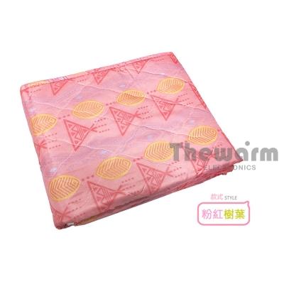Thewarm韓國七段恆溫定時電熱毯(單人) 粉紅樹葉