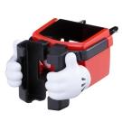 NAPOLEX米奇冷氣孔手機杯架(WD269)-急速配