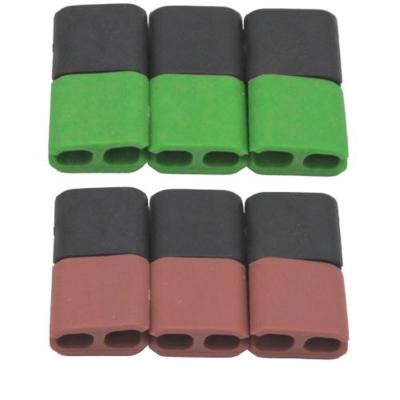 純色矽膠方塊理線繞線器超值12入(CC-923).