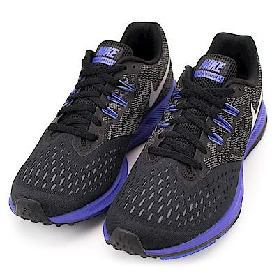 NIKE-ZOOM WINFLO 4女慢跑鞋-黑紫
