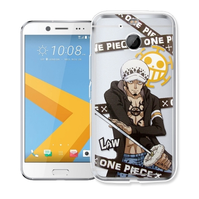 航海王 HTC 10 evo 透明軟式手機殼(封鎖羅)