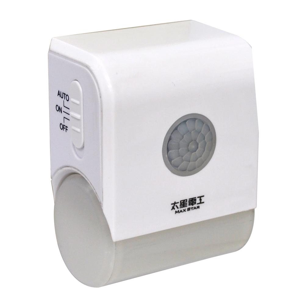 太星電工夜貓子LED壁插型感應燈 WD721