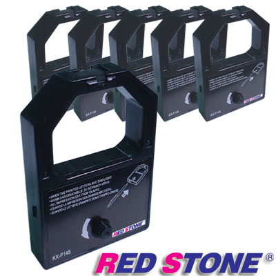 RED STONE for PANASONIC P1124黑色色帶組(1組6入)