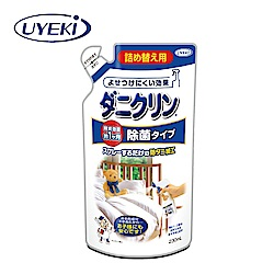UYEKI日本植木 藍色除菌型 防蹣噴液補充包230ml